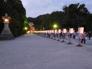 ぼんぼり祭夜1.JPG
