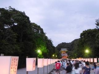 ぼんぼり祭夜2.JPG